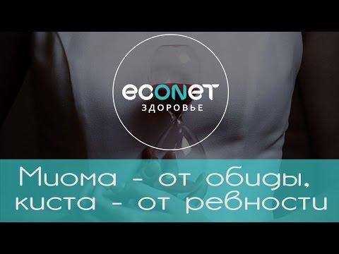 Миома - от обиды, киста - от ревности   ECONET.RU