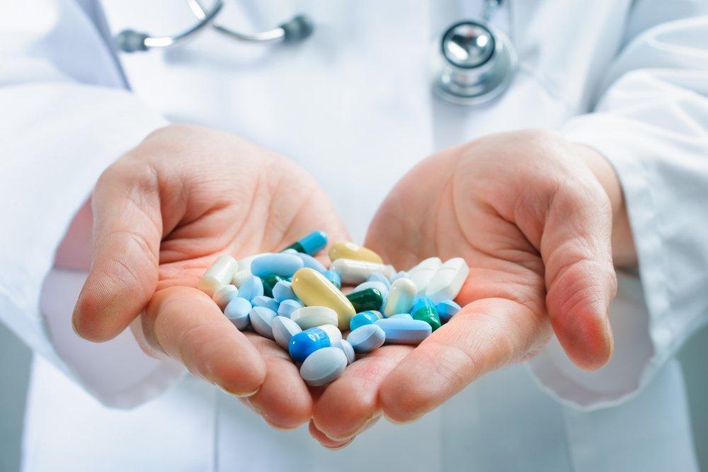 Таблетки и капельницы