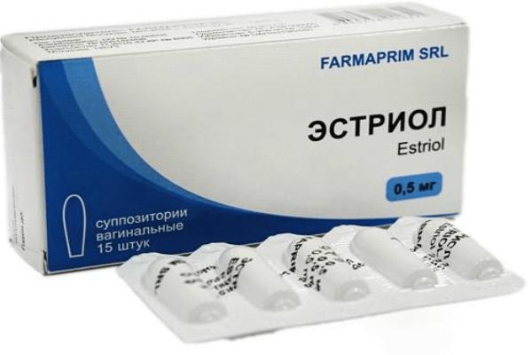 Гормональные препараты. Эстриол