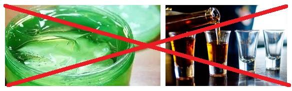 Смазка и алкоголь