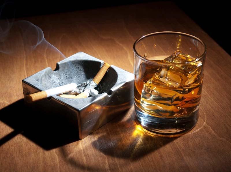 Курение и употребление алкоголя при миоме матки