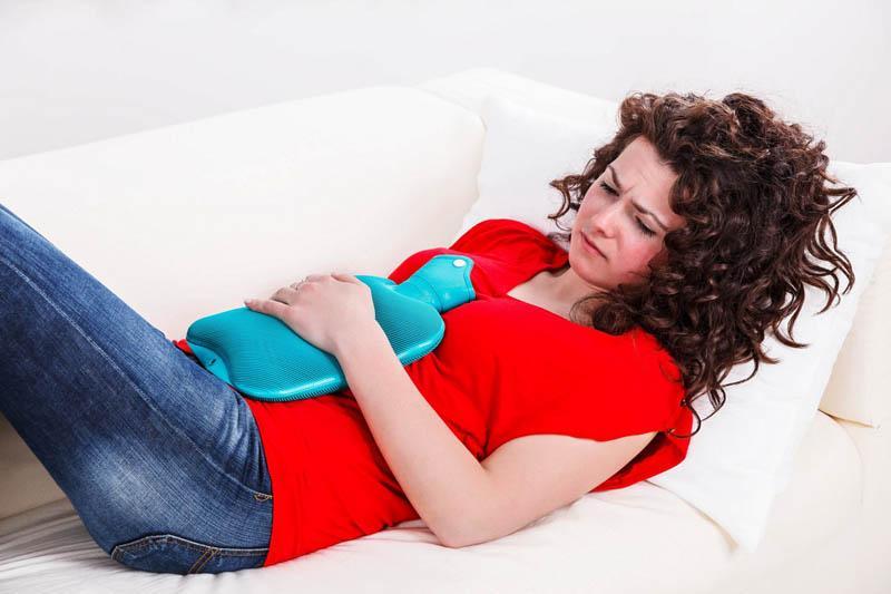 Боль в животе при патологиях придатков или матки